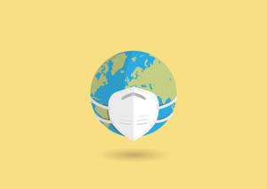 coronavirus mask earth