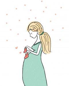 Beautiful pregnancy