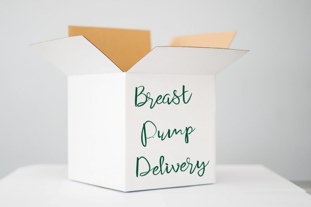 Breast pump delivery