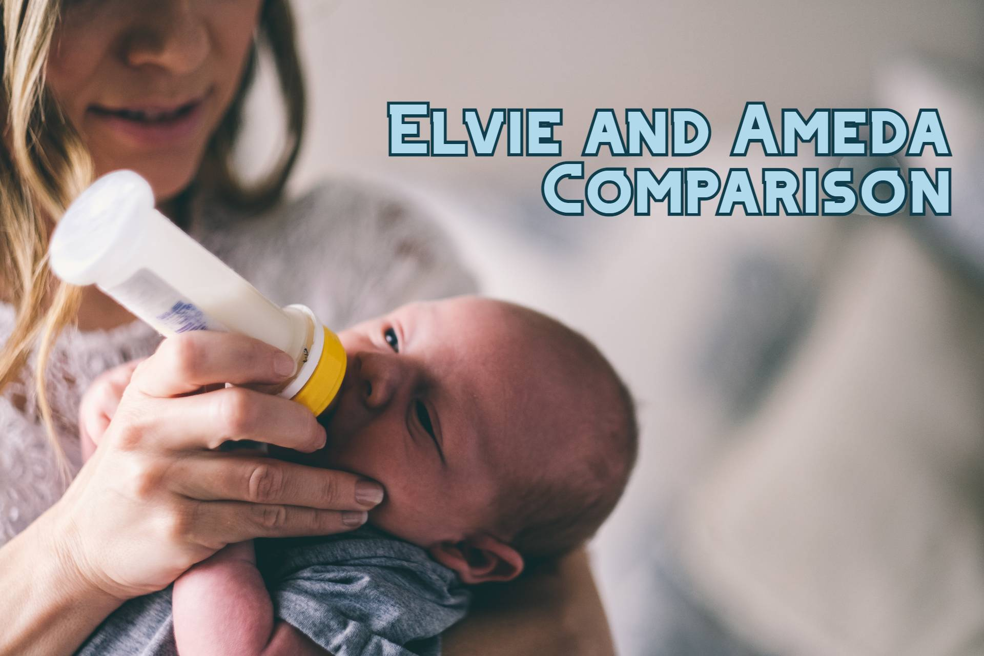 Compare Elvie And Ameda Breast Pumps